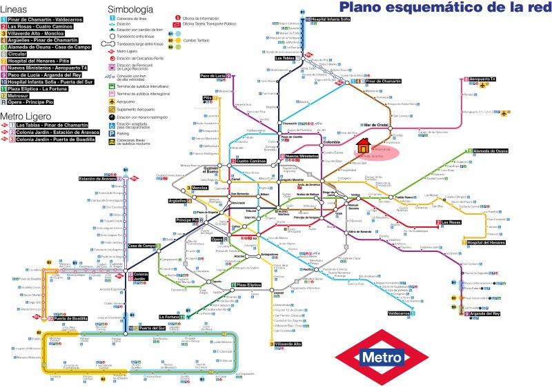 PErfectamente comunicado. A 500m de las estaciones de metro de Avenida de La Paz y Arturo Soria