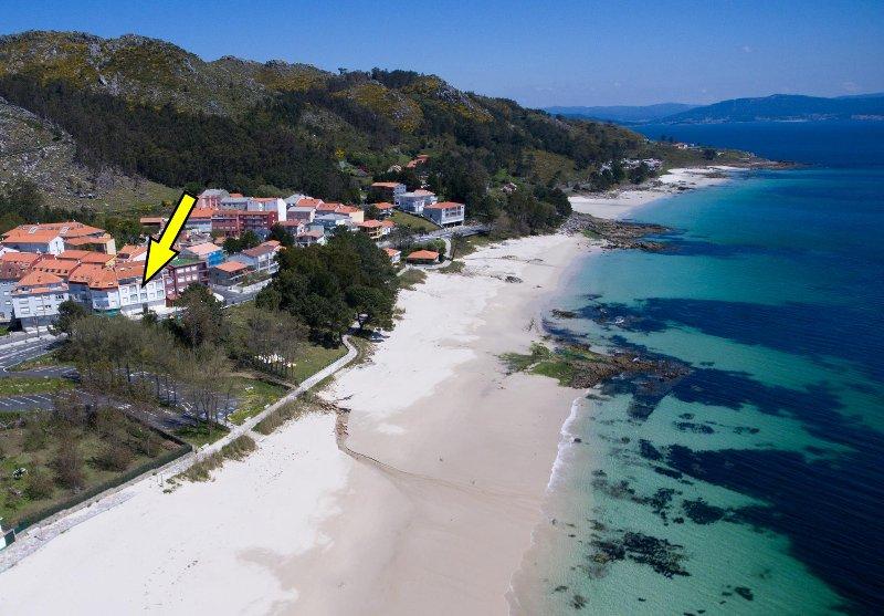 Apartamento Mar de Louro, holiday rental in A Virxe Do Camino