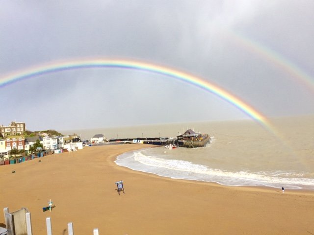 picture taken by Ruth on a sunny day in broadstairs