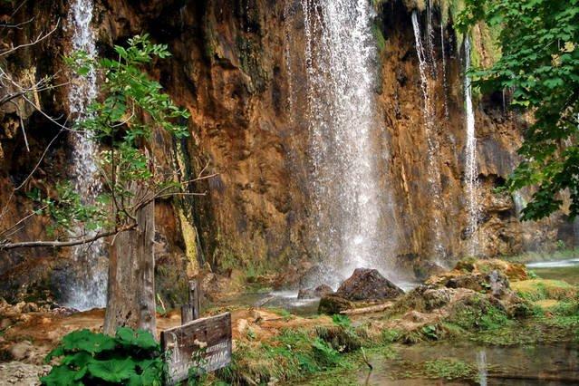 cascades - partie supérieure des lacs