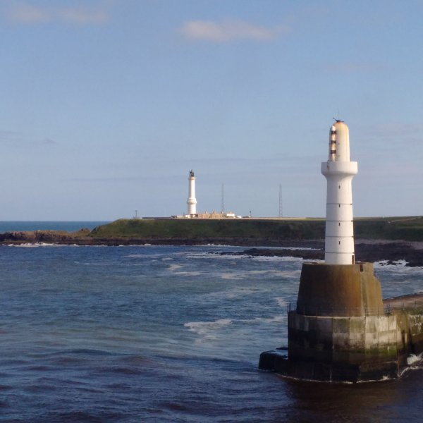 Aberdeen Lighthouse Cottages only two miles from the city centre