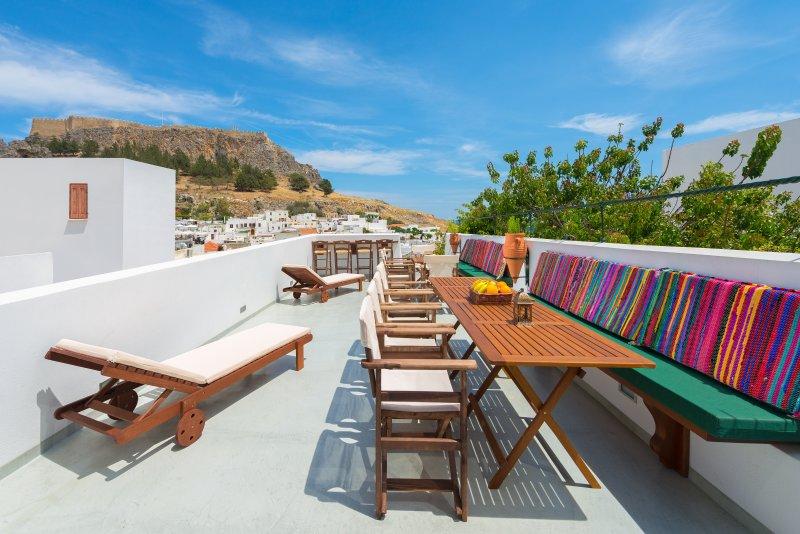 Villa Eftihia in Lindos, location de vacances à Lindos