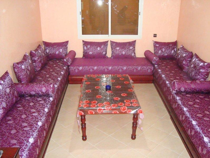 Appartement Yasmine  3 chambres , Wifi à Temara, alquiler de vacaciones en Región de Rabat-Salé-Zemur-Zaer