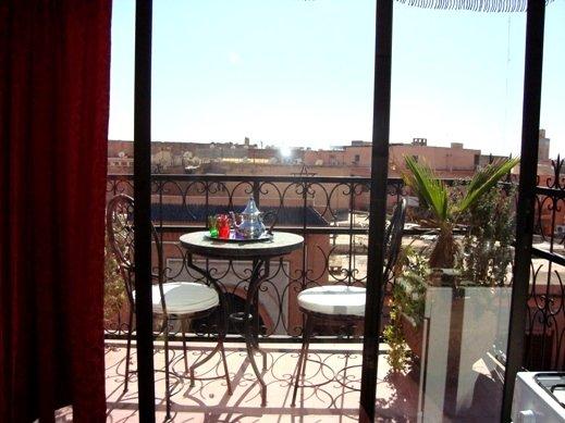 Studio M6 Avec Terrasse Centre Ville Marrakech - Marrakech - appartement