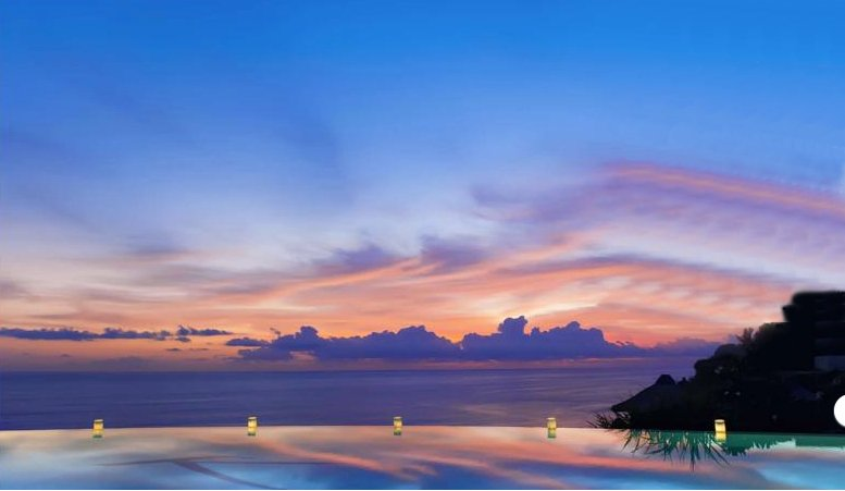 Enjoy  the romantic sunsets and the beautiful warm evenings.