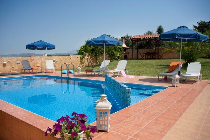 Villa Aretousa 1, location de vacances à Agia Marina