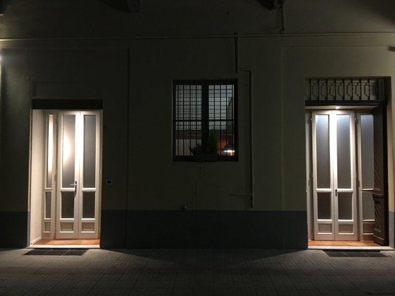 esterno di notte