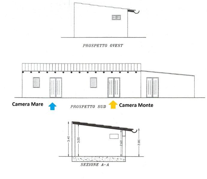 Side View Room Mare e Monte