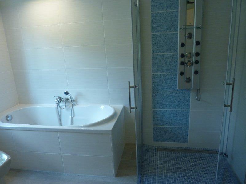 Badewanne; Dusche ebenerdig