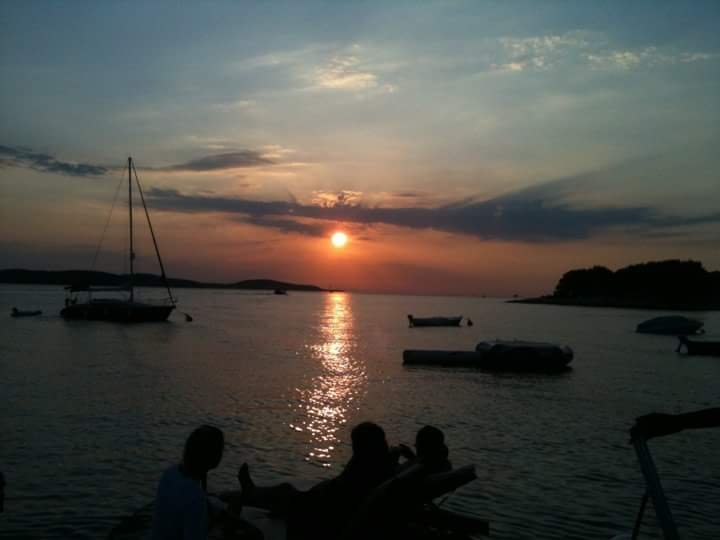 Sunsets on Hvar are rally something special