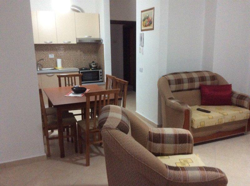 Apartment in Durres beach, location de vacances à Comté de Durres