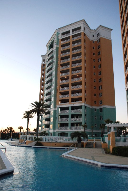 En Soleil is 2 15 storey towers with only 3 units per floor, indoor access and very well maintained.