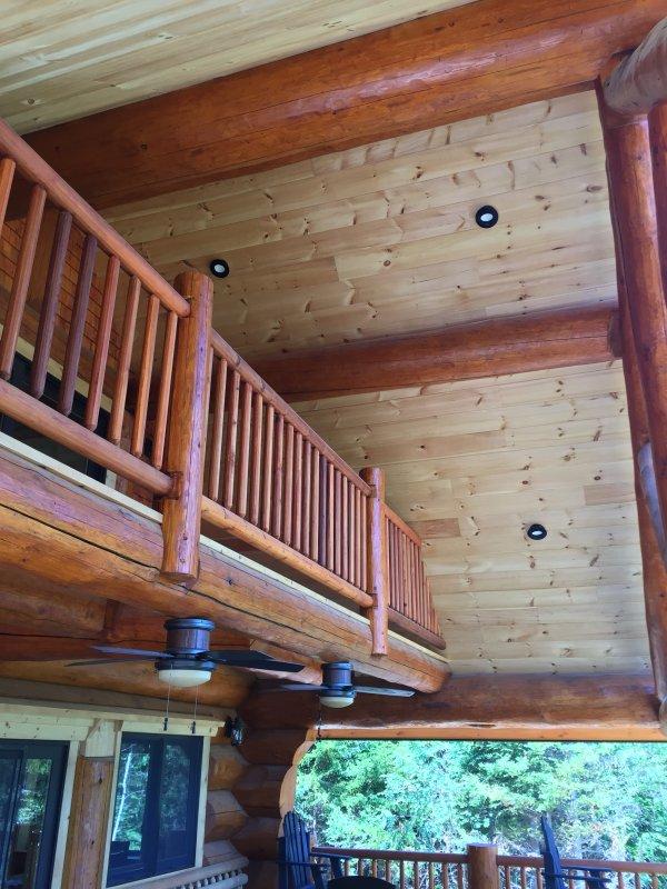 Ceiling of outdoor room