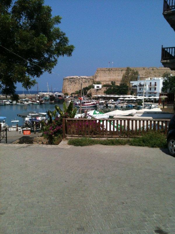 Kyrenia Harbour view
