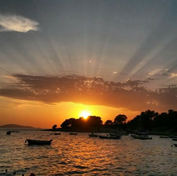 Sunsets on Hvar are something special, come see it yourself. Visit Hvar, book Ela Marija apartment!