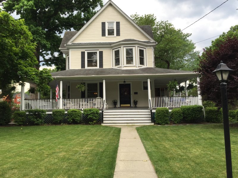 Beautiful victorian with wrap around porch