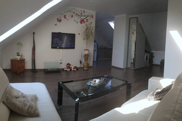 Nice and cozy loft apartment, holiday rental in Ikskile