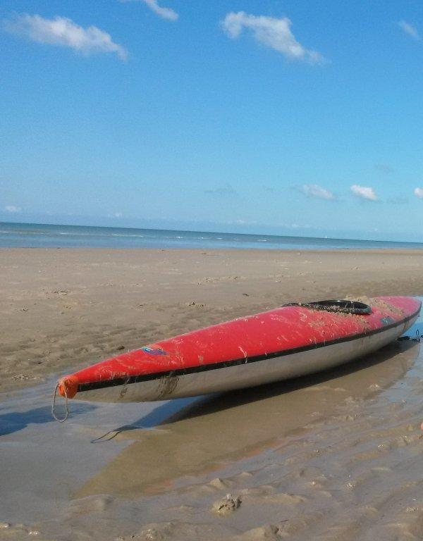 Beach of Hardelot, 5 min. walk
