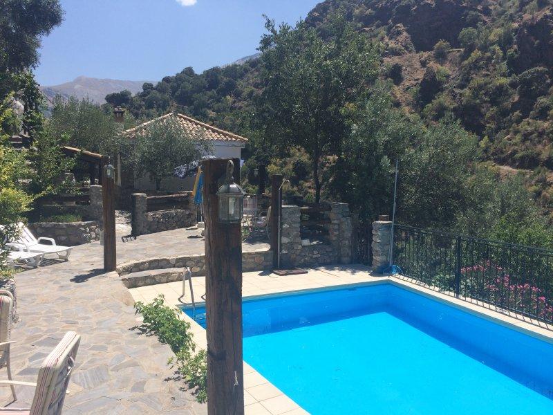 photo de la ferme de la piscine