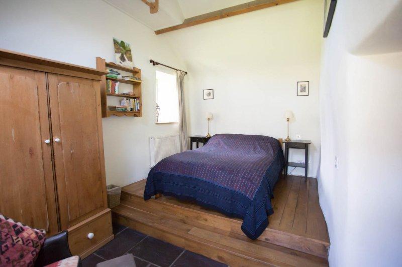 Bedroom one, the platform bedroom