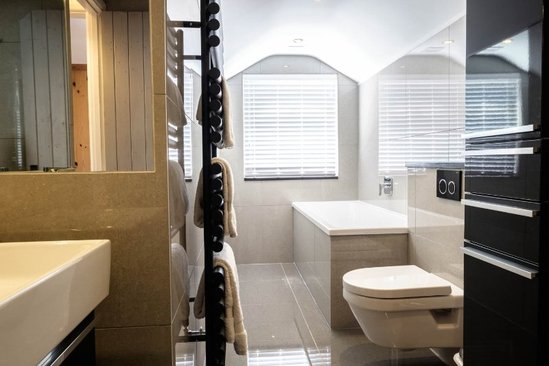 Newly extended and top spec refurbished bathroom
