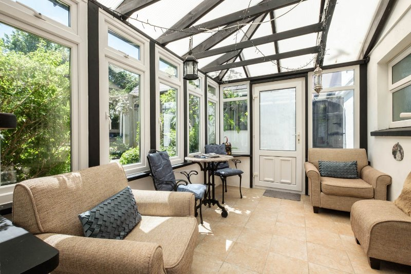 Conservatory. Great in rain or shine