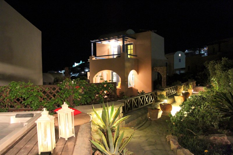 Villa Athena by night