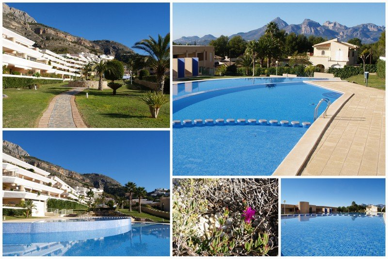 Spacious Apt in Altea La Vella with shared pool, holiday rental in Tarbena