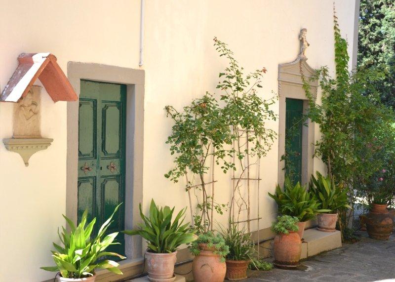 Villa Luciano, holiday rental in Poggio a Caiano
