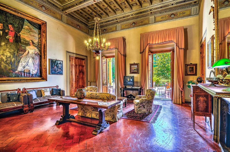 Villa Pandolfini 1- Apartment for rent in Florence, holiday rental in Poggio a Caiano