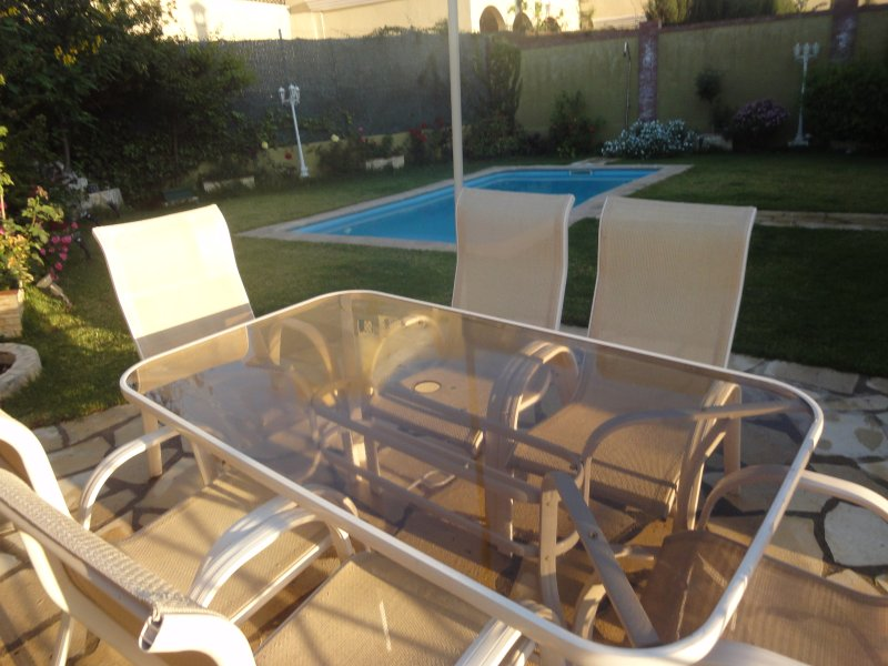 garden furniture and pisciona