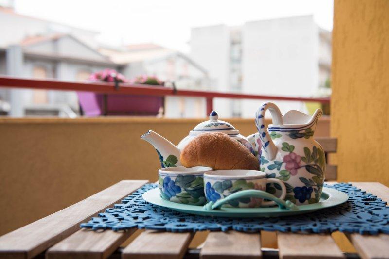 Appartamento turistico 'Balcone Fiorito', alquiler vacacional en Case Giurdanella