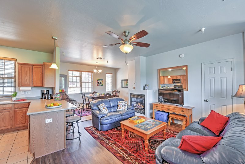 Escape to Flaggstaff at this lovely 3-bedroom, 3.5-bathroom vacation rental townhome!