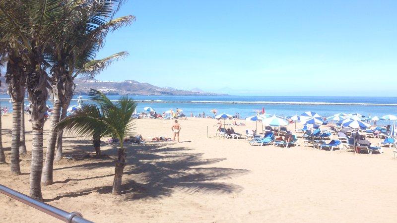 APARTAMENTO EN 1º LINEA DE PLAYA LAS CANTERAS, vacation rental in Las Palmas de Gran Canaria