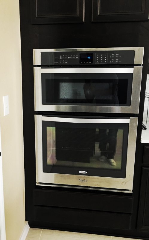 Microwave / oven combo