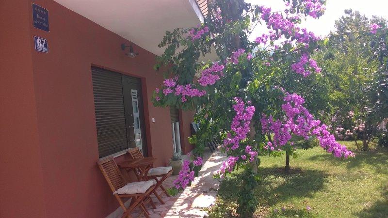 Entrance / garden view
