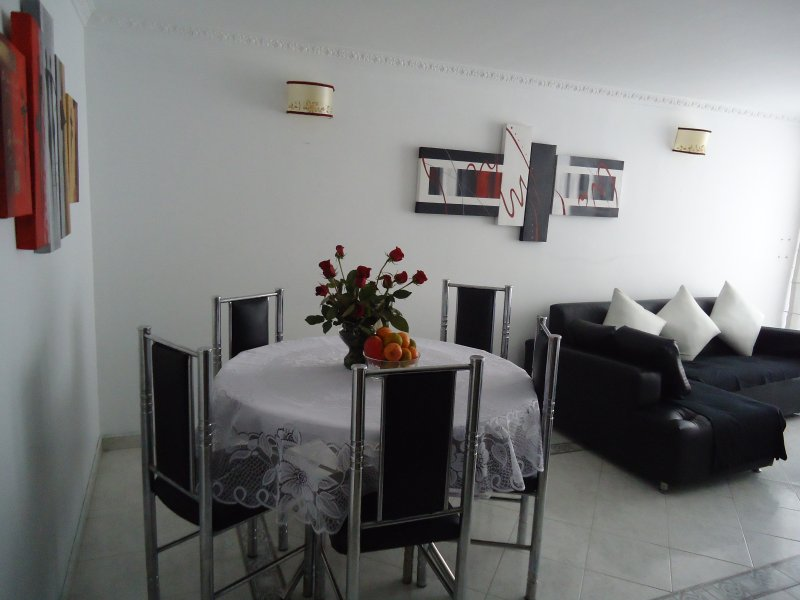 NORTE DE BOGOTA, 3 DORMITORIOS, GYM, BBQ, 4 PERSON, location de vacances à Guasca