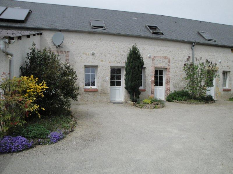 Gites confortables avec vue sur la campagne, location de vacances à Germigny-des-Pres
