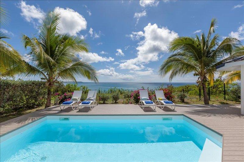 Beautiful 3 bedroom villa on the hillside of St Martin, aluguéis de temporada em La Savane