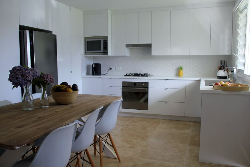 Beautiful kitchen with Smeg appliances
