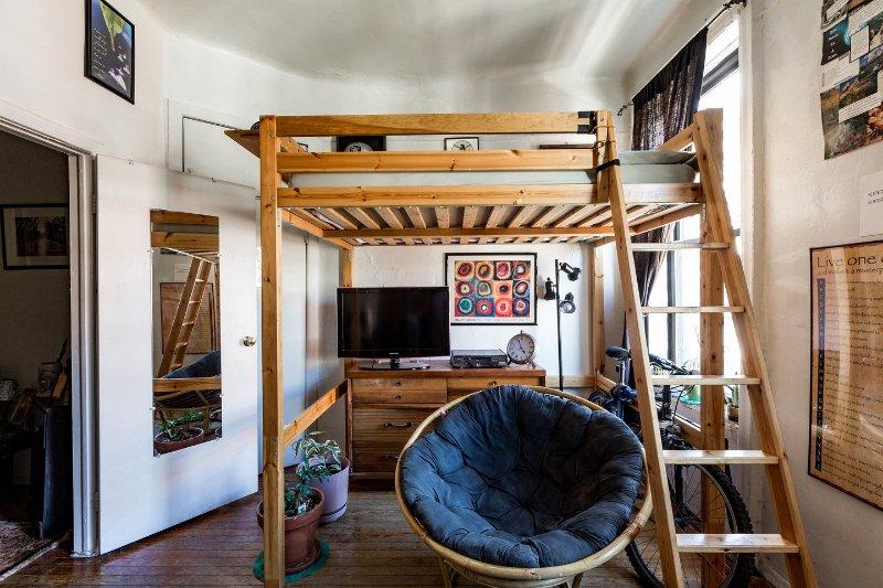 De logeerkamer volledige weergave van de loft