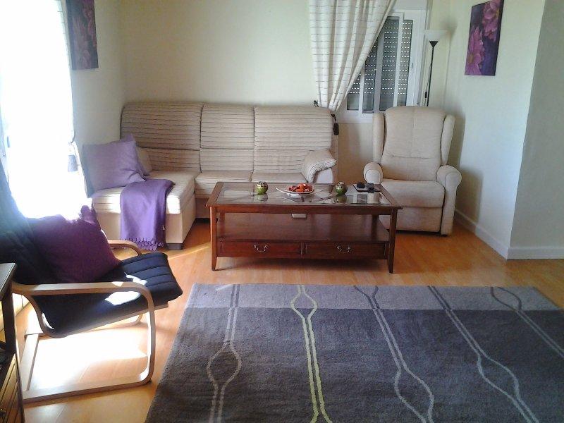 En la sala, pero ha sido pintado, más fotos y reorganizado desde ... foto nueva a seguir