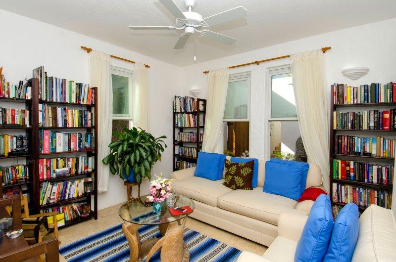 Study and TV room