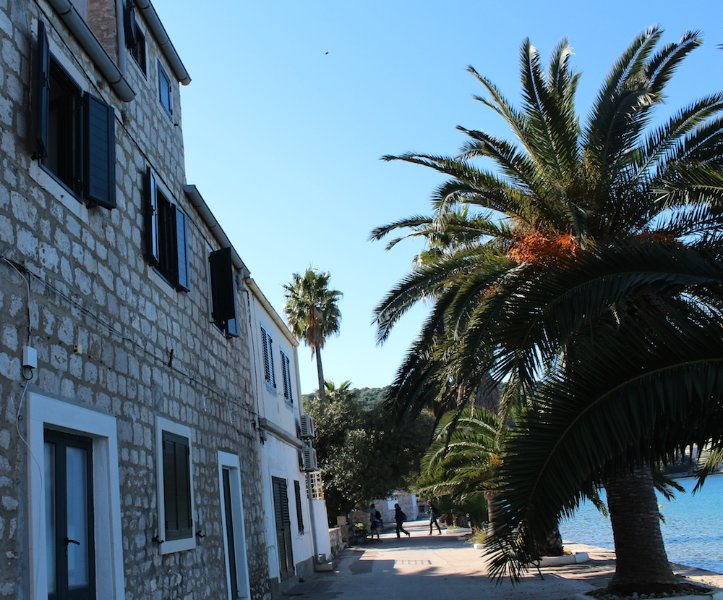 Holiday flat for 6 persons on Lopud island, holiday rental in Lopud