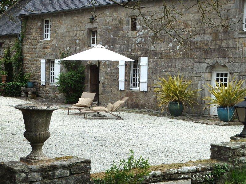 Outside Maison Lamphily