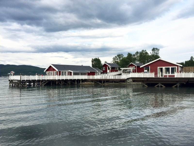 Fisherman's Cottages at Garsnes Brygge, alquiler de vacaciones en Troms