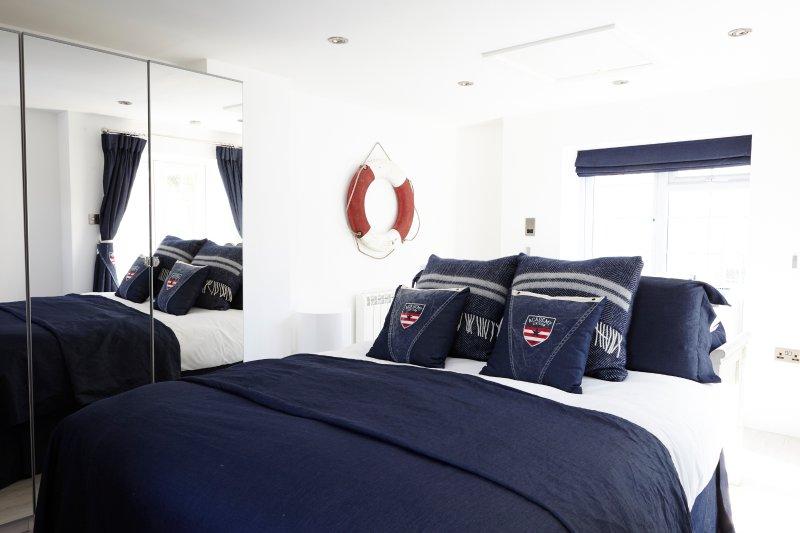 Ralph Lauren inspired ground floor annexe bedroom