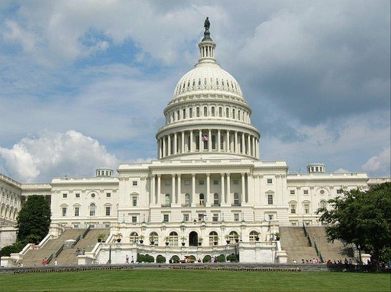 The U. S. Capitol.