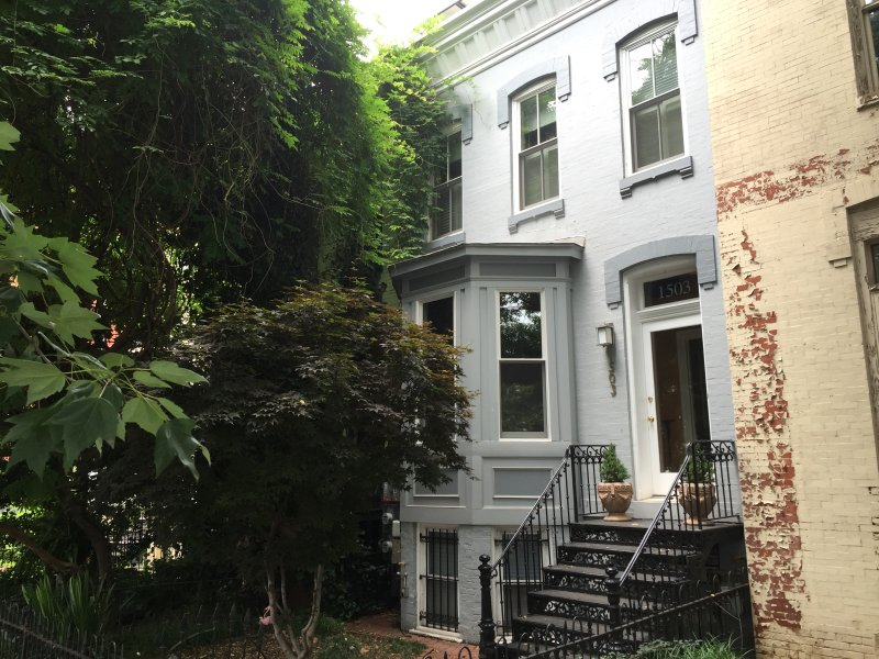 Charming 1890 townhouse in one of DC's most desirable neighborhoods!