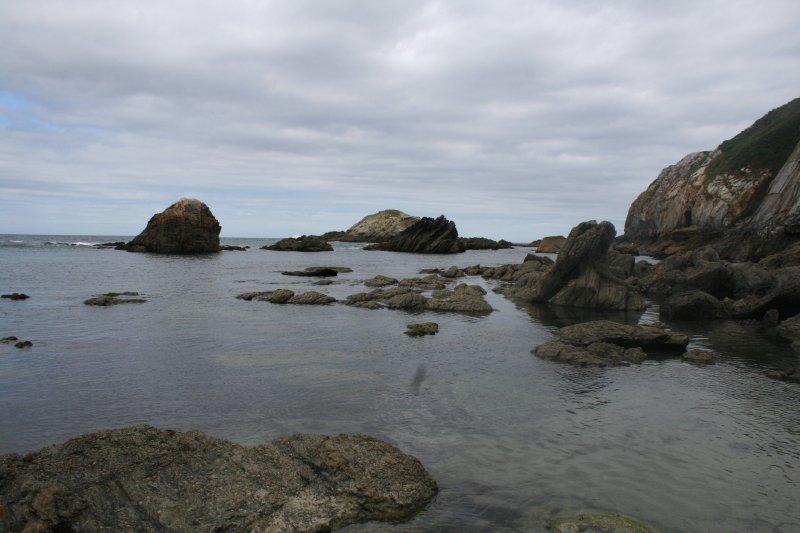 Playa de Porcía. Paraiso de buceadores y pescadores